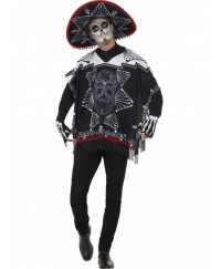 Costum Halloween adulti bandit Day of the Dead unisex