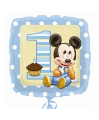 Balon folie Mickey First Birthday