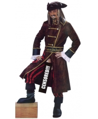 Costum carnaval barbati Pirat Captain John Longfellow