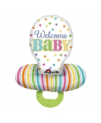 Balon folie suzeta WELCOME BABY
