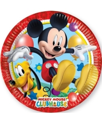 Set 8 farfurii mari Mickey Mouse Clubhouse