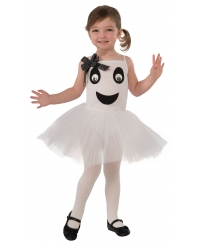 Costum Halloween copii mini fantoma balerina