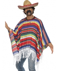 Poncho mexican autentic