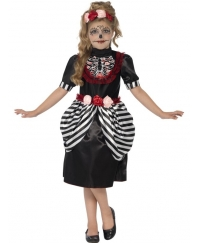 Costum Halloween copii Schelet simpatic