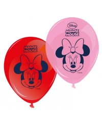 Set 8 baloane MINNIE MOUSE