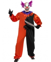 Costum Halloween Clown Inspaimantator