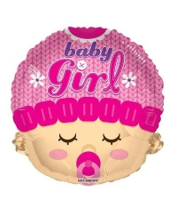 Balon folie figurina Baby Girl