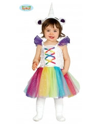 Costum carnaval copii baby unicorn