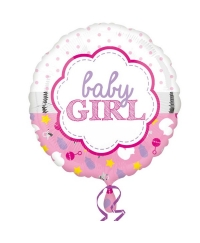 Balon folie BABY GIRL