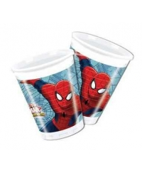 Set pahare Spiderman Web Warriors