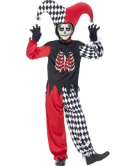 Costum Halloween copii Jester