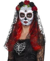 Masca Halloween Day of the Dead senorita