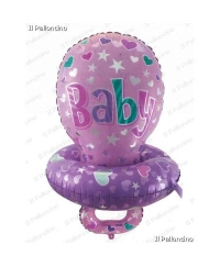 Balon folie  Baby Girl Suzeta